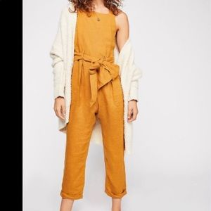 Free people Coladas all day jumpsuit